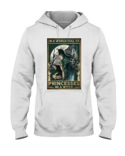 A Witch Not Princess Hooded Sweatshirt thumbnail
