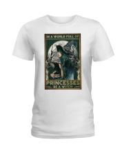 A Witch Not Princess Ladies T-Shirt thumbnail