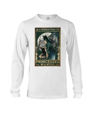A Witch Not Princess Long Sleeve Tee thumbnail