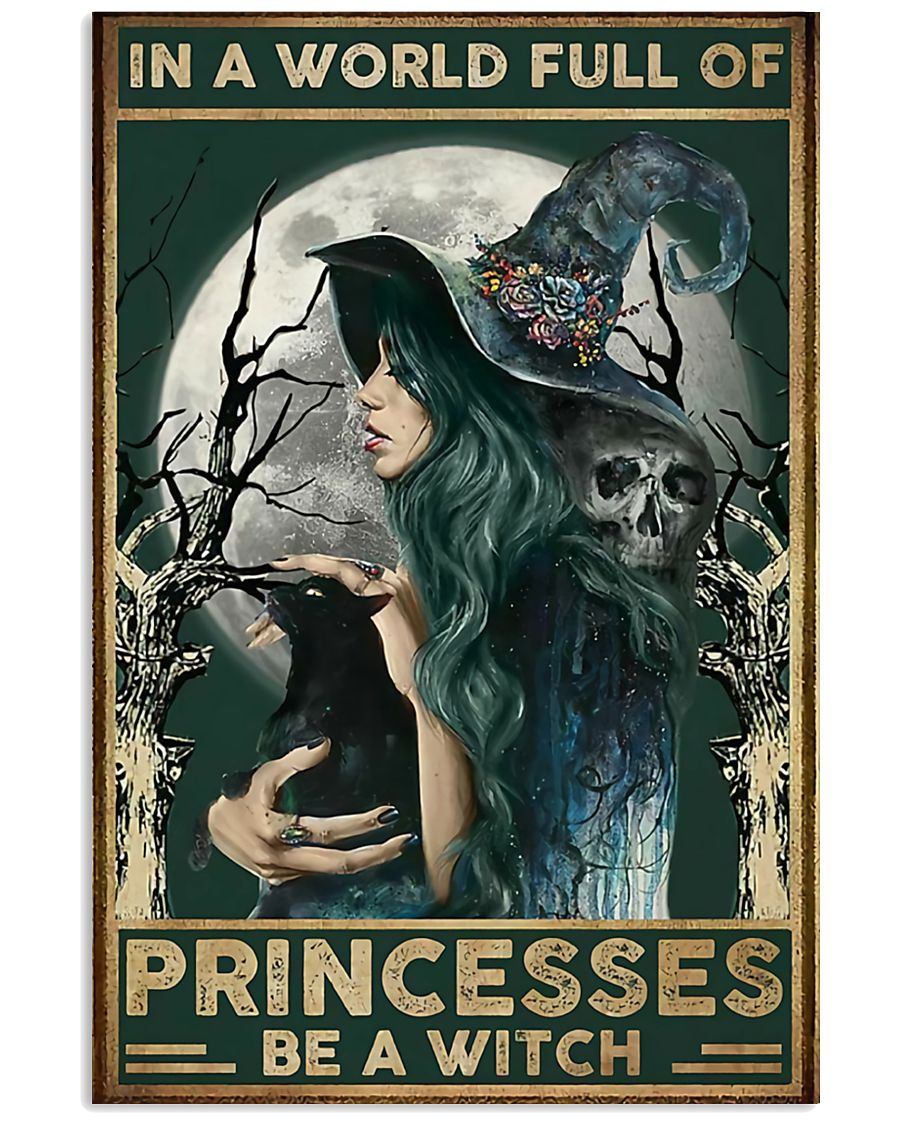 A Witch Not Princess 11x17 Poster