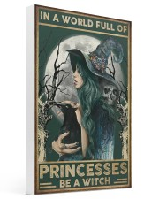 A Witch Not Princess 16x24 Gallery Wrapped Canvas Prints thumbnail