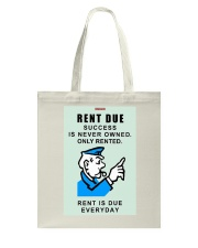 Monopoly Game Policeman RENT DUE Tote Bag thumbnail