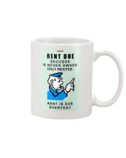 Monopoly Game Policeman RENT DUE Mug thumbnail