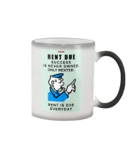 Monopoly Game Policeman RENT DUE Color Changing Mug thumbnail