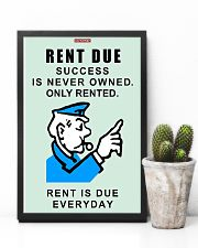 Monopoly Game Policeman RENT DUE 11x17 Poster lifestyle-poster-8