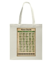 Piano Chord Chart Tote Bag tile