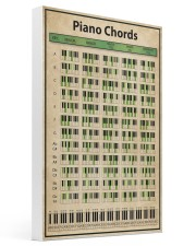 Piano Chord Chart 16x24 Gallery Wrapped Canvas Prints thumbnail