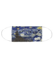 Pitbull Starry Night Cloth face mask aos-face-mask-coverlet-lifestyle-front-01