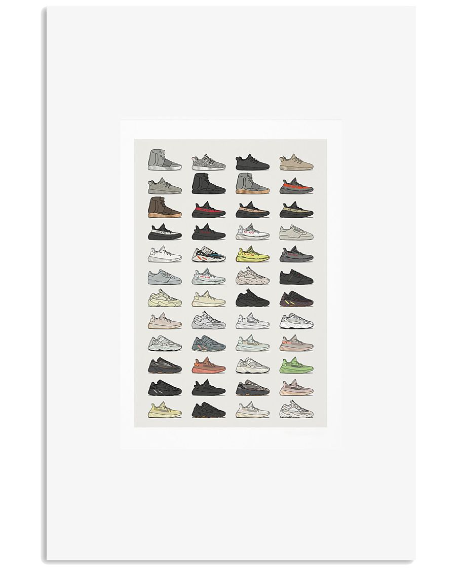 ADD YZY Collection 11x17 Poster
