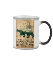 Into The Forest Color Changing Mug tile