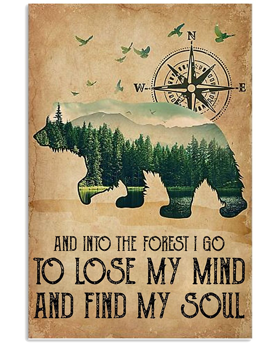 Into The Forest 16x24 Poster