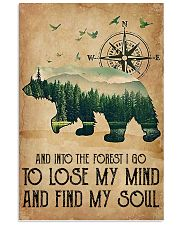 Into The Forest 16x24 Poster front
