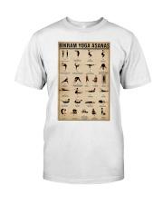 Bikram yoga asanas Classic T-Shirt thumbnail