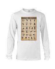 Bikram yoga asanas Long Sleeve Tee thumbnail