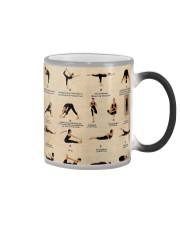 Bikram yoga asanas Color Changing Mug thumbnail