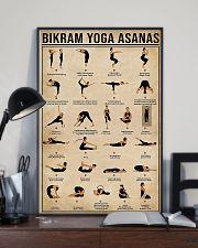Bikram yoga asanas 11x17 Poster lifestyle-poster-2