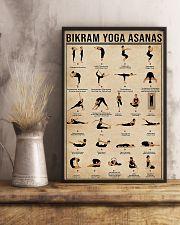 Bikram yoga asanas 11x17 Poster lifestyle-poster-3