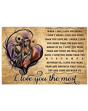 I Love You 17x11 Poster front