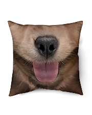 "Cute Dog Indoor Pillow - 16"" x 16"" thumbnail"