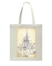 Dreamy Castle Tote Bag thumbnail