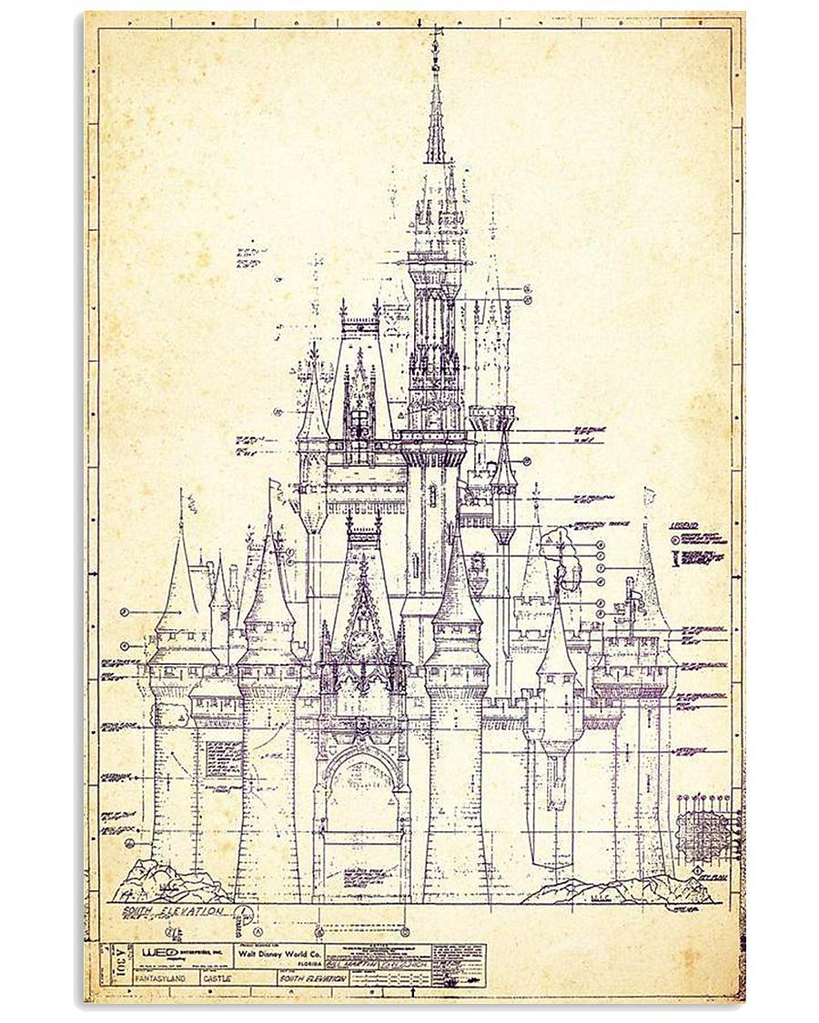 Dreamy Castle 11x17 Poster
