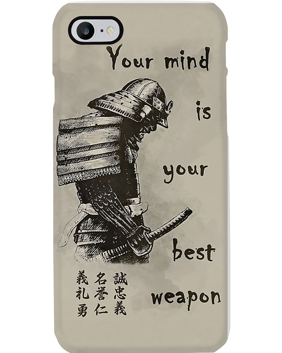 Your Mind Your Weapon Phone Case