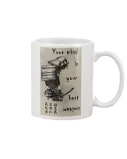 Your Mind Your Weapon Mug thumbnail