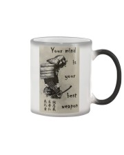 Your Mind Your Weapon Color Changing Mug thumbnail