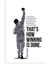 Winning Is Done 16x24 Poster front