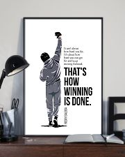 Winning Is Done 16x24 Poster lifestyle-poster-2