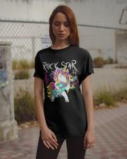 Rockstar Unicorn Classic T-Shirt apparel-classic-tshirt-lifestyle-18