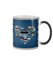 Sharks Infographic Color Changing Mug thumbnail