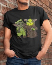 Yoda and Grinch Classic T-Shirt apparel-classic-tshirt-lifestyle-26