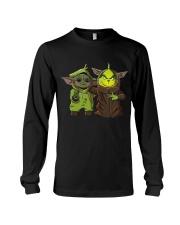Yoda and Grinch Long Sleeve Tee thumbnail