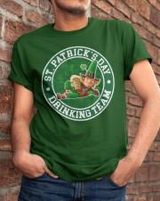 Drinking Team Classic T-Shirt apparel-classic-tshirt-lifestyle-26