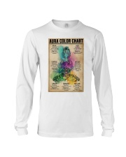 Aura Color Chart Long Sleeve Tee thumbnail