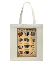Musical Keyboard Instrument Types Of Accordion Tote Bag thumbnail
