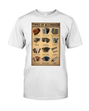 Musical Keyboard Instrument Types Of Accordion Classic T-Shirt thumbnail