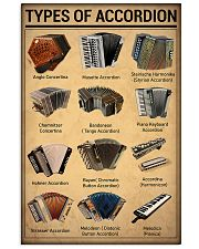 Musical Keyboard Instrument Types Of Accordion 11x17 Poster front