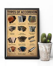 Musical Keyboard Instrument Types Of Accordion 11x17 Poster lifestyle-poster-8