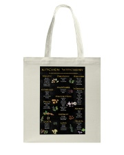 Kitchen Witchy Poster Tote Bag thumbnail