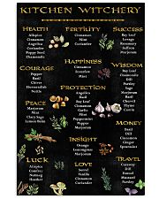 Kitchen Witchy Poster 11x17 Poster front