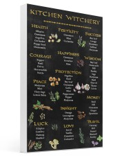 Kitchen Witchy Poster 16x24 Gallery Wrapped Canvas Prints thumbnail