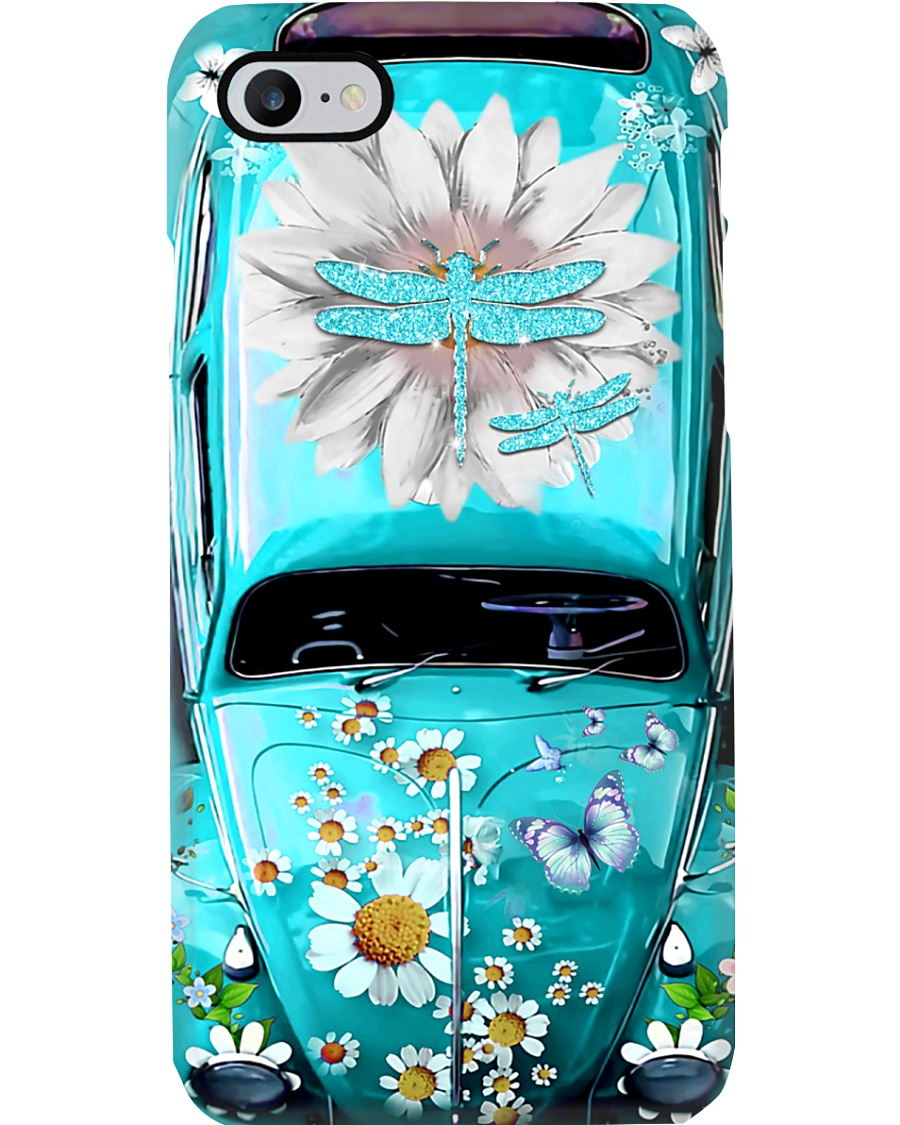 Dragonfly Lovers Vw Bug Phone Case