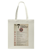 The 7 Virtues Of Bushido Tote Bag thumbnail