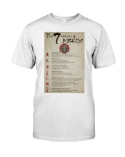 The 7 Virtues Of Bushido Classic T-Shirt thumbnail