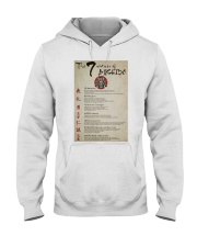 The 7 Virtues Of Bushido Hooded Sweatshirt thumbnail