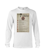 The 7 Virtues Of Bushido Long Sleeve Tee thumbnail