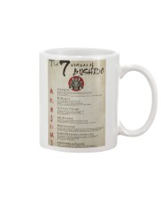 The 7 Virtues Of Bushido Mug thumbnail