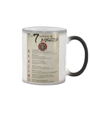 The 7 Virtues Of Bushido Color Changing Mug thumbnail